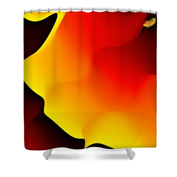 Abstract 515 8 Shower Curtain