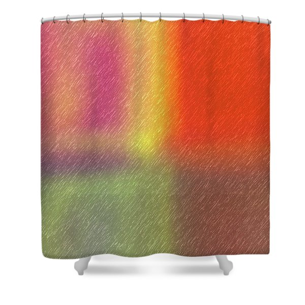 Abstract 5791 Shower Curtain