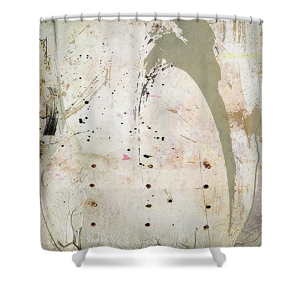 Abstract 11 Shower Curtain