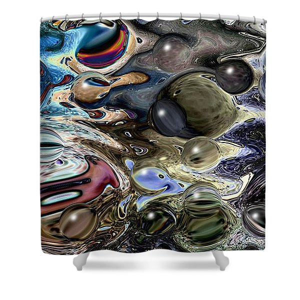 Abstract 623164 Shower Curtain