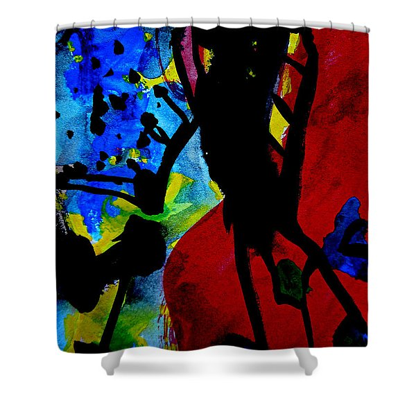 Abstract-7 Shower Curtain