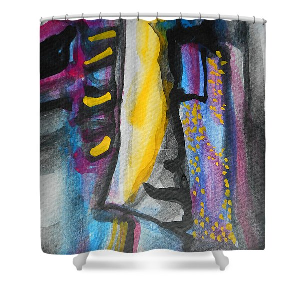 Abstract-8 Shower Curtain