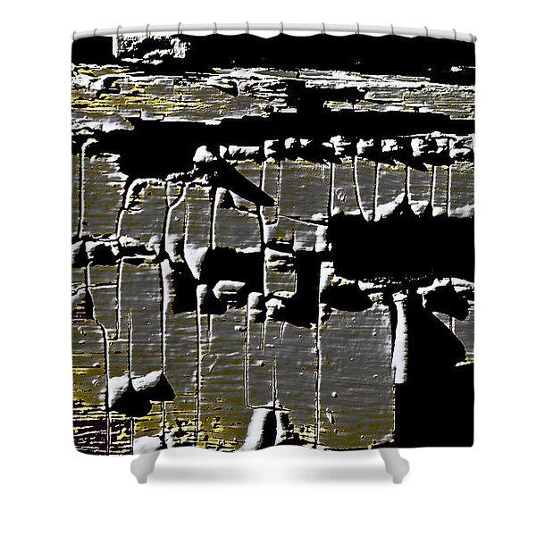 Abstract 99 Shower Curtain