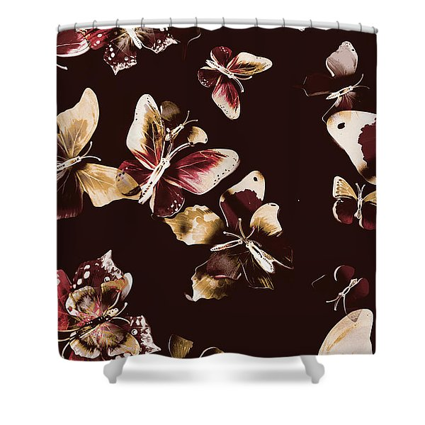 Abstract Butterfly Fine Art Shower Curtain