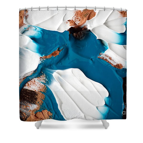 Abstract C010816 Shower Curtain