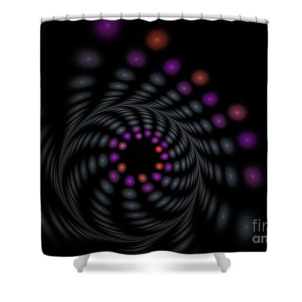 Abstract Carousel Shower Curtain
