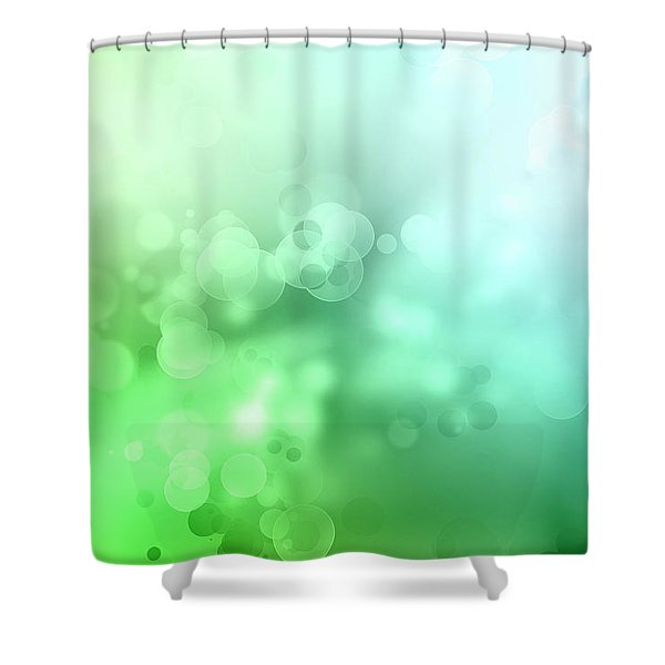 Abstract Circles 7 Shower Curtain