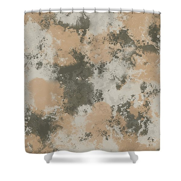 Abstract Mud Puddle Shower Curtain