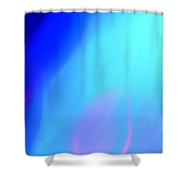 Abstract No. 10 Shower Curtain