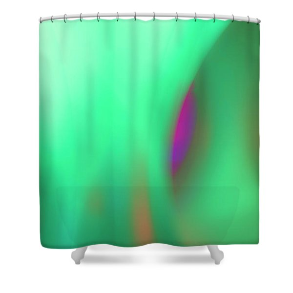 Abstract No. 11 Shower Curtain