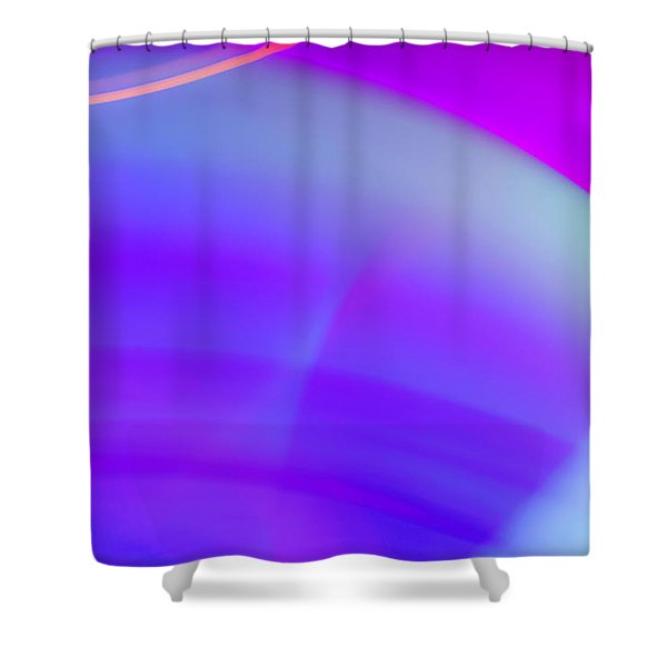 Abstract No. 4 Shower Curtain