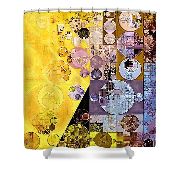 Abstract Painting - Festival Shower Curtain