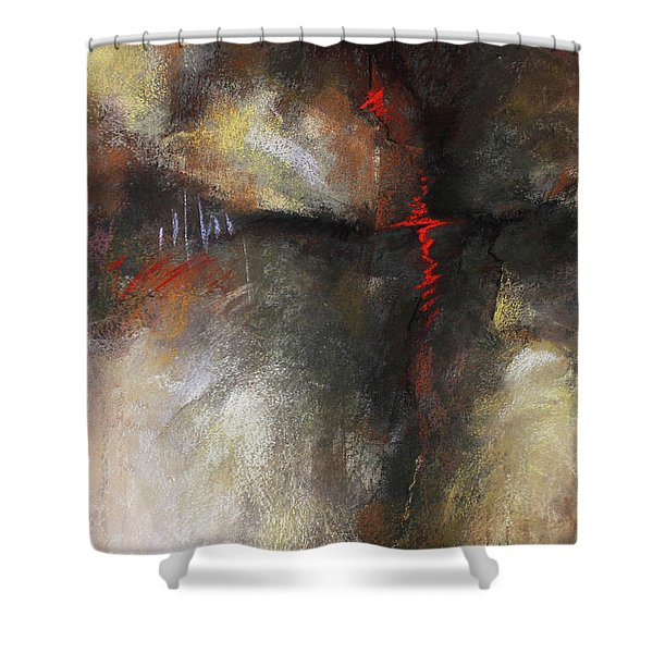Abstract Pastel 1 Shower Curtain