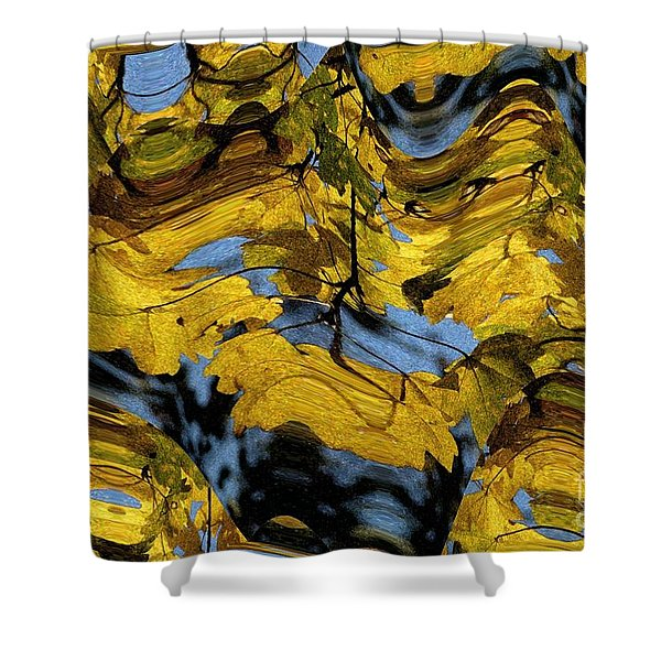 Abstract Pattern 4 Shower Curtain