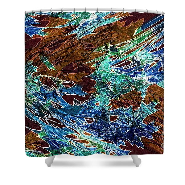 Abstract Pattern 6 Shower Curtain