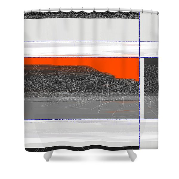 Abstract Planes Shower Curtain