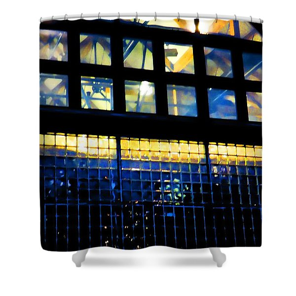 Abstract Reflections Digital Art #5 Shower Curtain