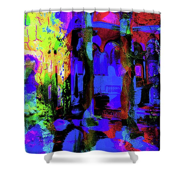 Abstract Series 0177 Shower Curtain
