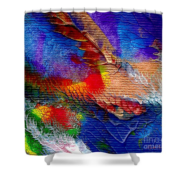 Abstract Series 0615a-5 Shower Curtain