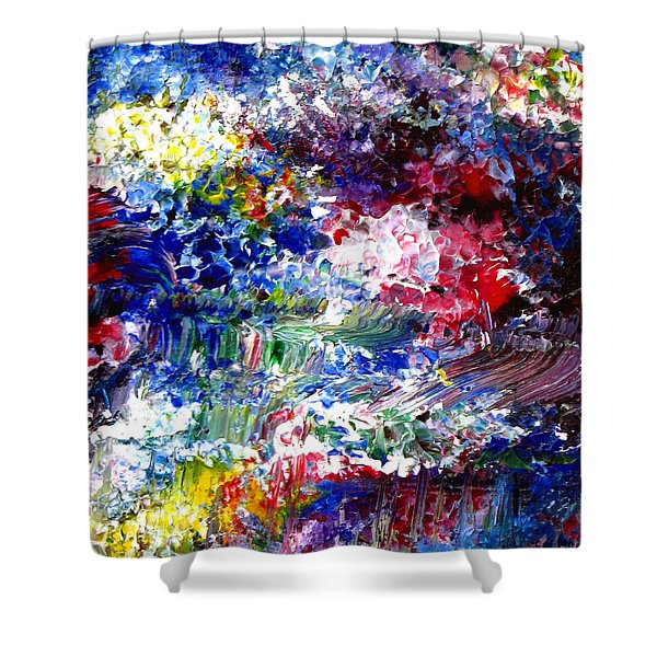 Abstract Series 070815 A2 Shower Curtain