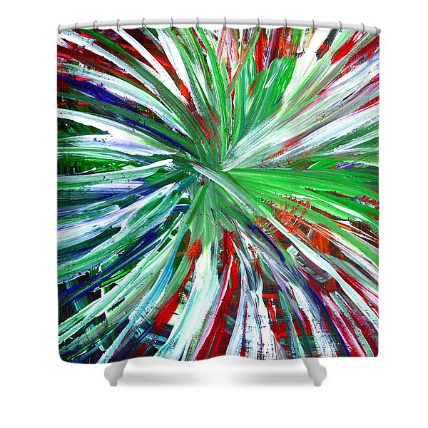 Abstract Series C1015dp Shower Curtain