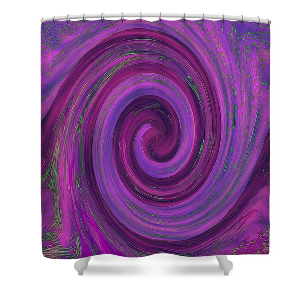 Swirl Abstract 3 Shower Curtain