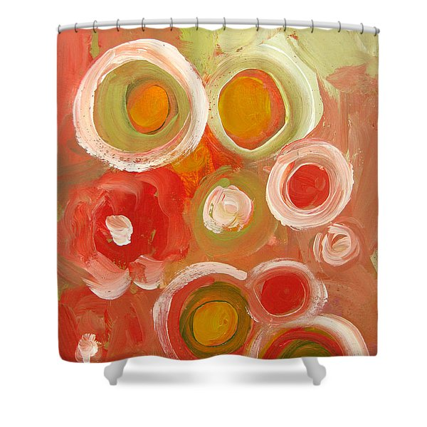 Abstract Viii Shower Curtain