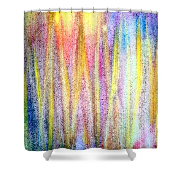 Abstract Watercolor A2 1216 Shower Curtain