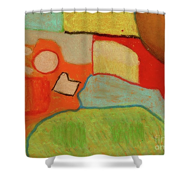 Abstraction123 Shower Curtain