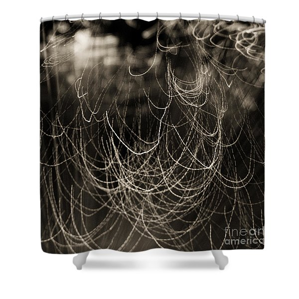 Abstractions 002 Shower Curtain