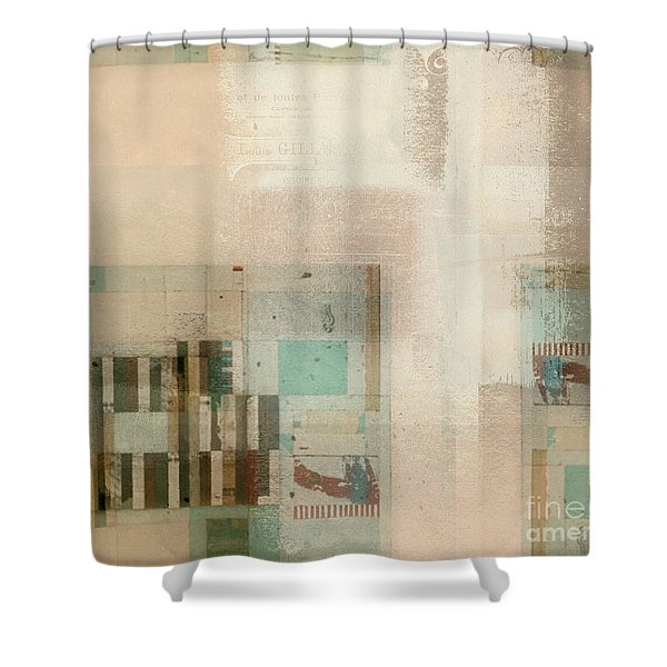Abstractitude - C01b Shower Curtain