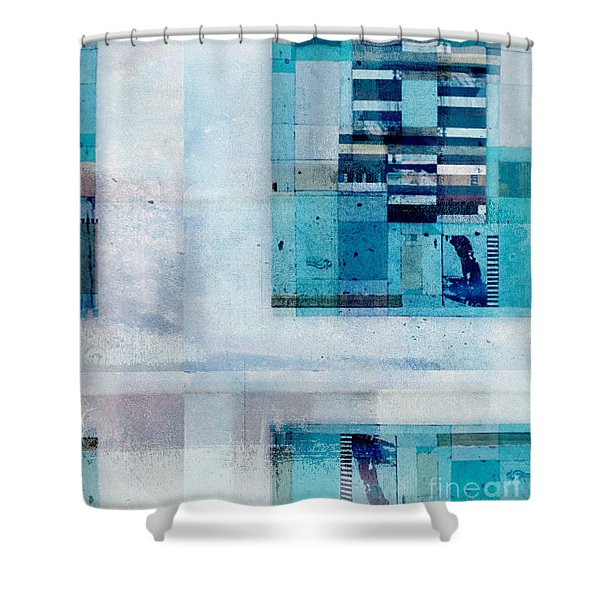 Abstractitude - C02v Shower Curtain