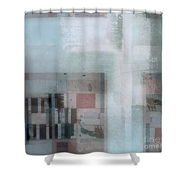 Abstractitude - C7 Shower Curtain