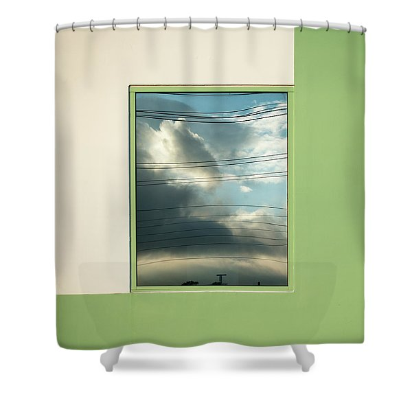 Abstritecture 19 Shower Curtain