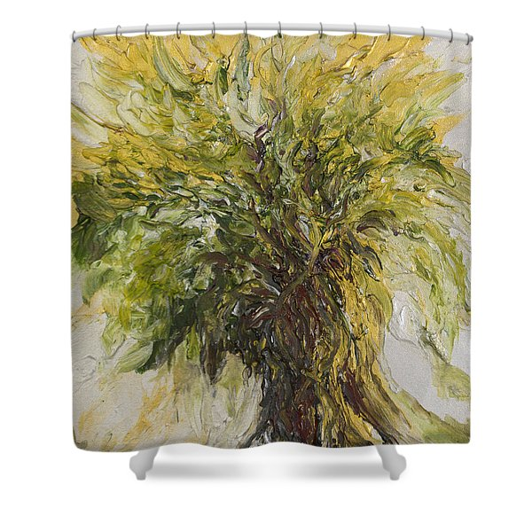 Abundance Tree Shower Curtain