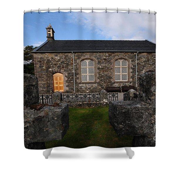 Acharacle Church Shower Curtain