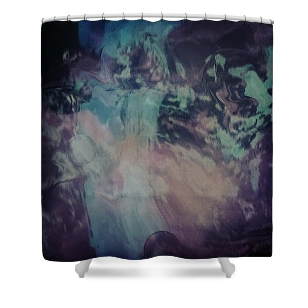 Acid Wash Shower Curtain