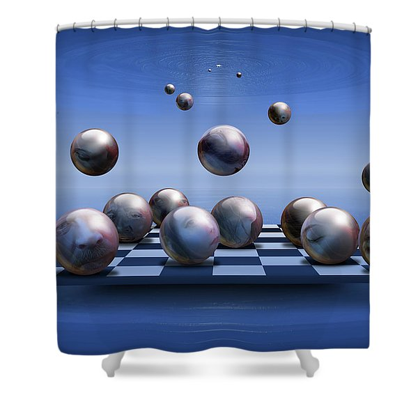 Acolytes Shower Curtain
