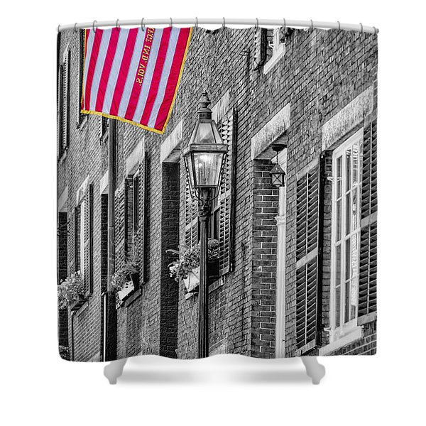 Acorn Street Details Sc Shower Curtain