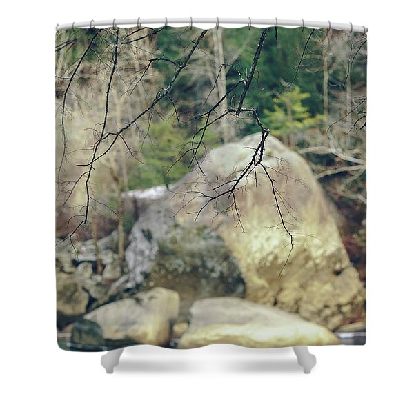 Across From Eagle Falls Shower Curtain