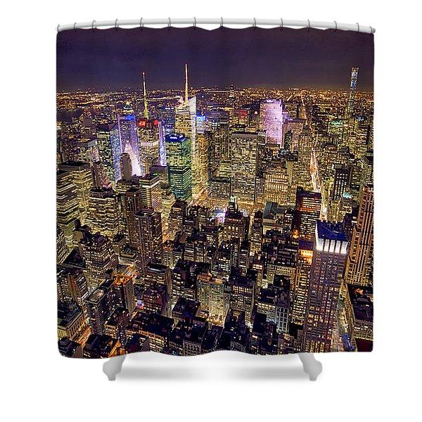 Across Manhattan Shower Curtain