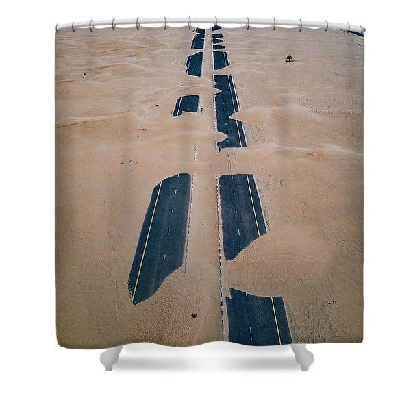 Across Sahara Shower Curtain
