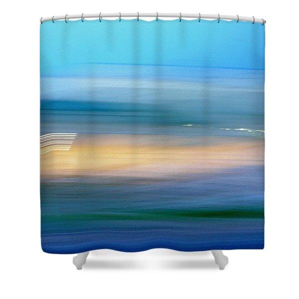 Across The Seven Seas Shower Curtain