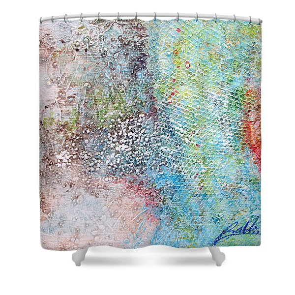 Abstract 201108 Shower Curtain