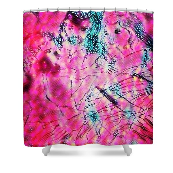 Adam And Eve The Creation Story Shower Curtain