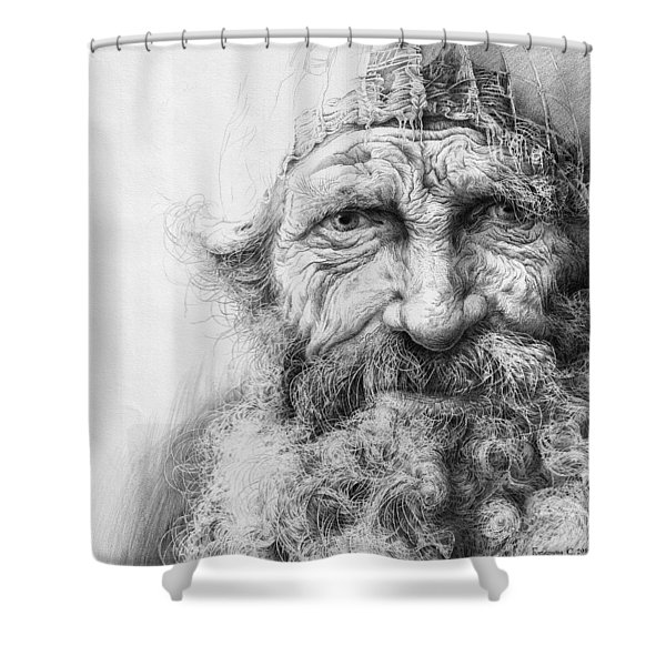 Adam. Series Forefathers Shower Curtain