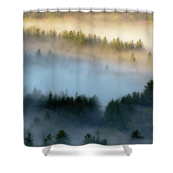 Adirondack Fog Shower Curtain