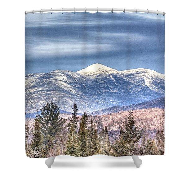 Adirondack High Peaks Shower Curtain
