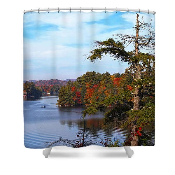 Adirondack View Shower Curtain
