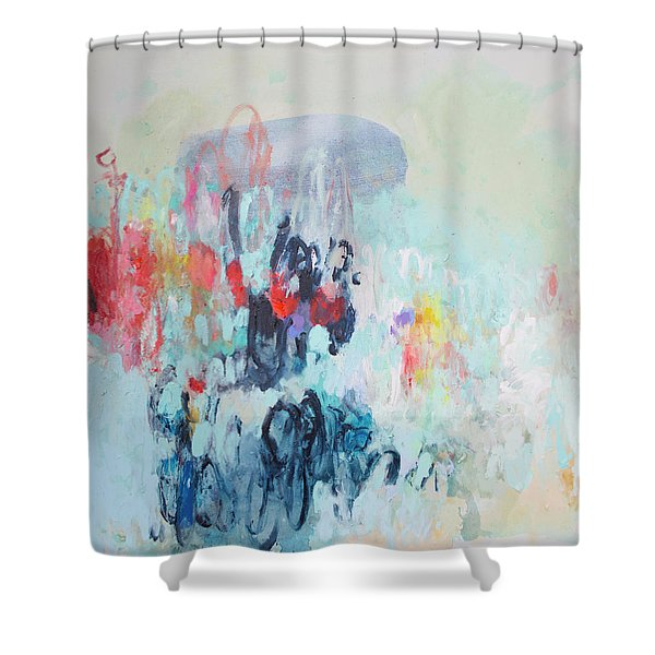 Admirable Intentions Shower Curtain